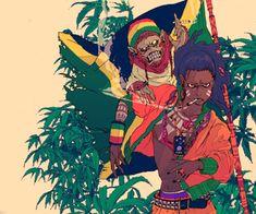 little haiti mural? Black Anime Characters, Fictional Characters, Warrior 2, Cool Cartoons, Black Art, Hetalia, Night Life, Egypt, African