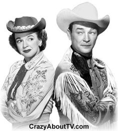 """Roy Rogers Show with Dale Evans. I remember my mom taking me to Madison Square Garden to see a rodeo. Pat Brady and """"Nellie Belle"""" were there too! Cowboys And Indians, Real Cowboys, Dale Evans, Vintage Tv, Vintage Hollywood, Thanks For The Memories, Roy Rogers, Cinema, Old Shows"""