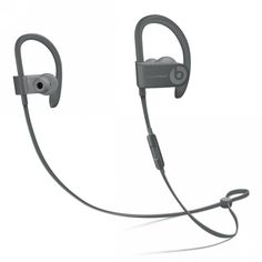 Dre Beats Powerbeats 3 Wireless Gray, Beats by Dre Wireless In Ear Headphones, Bluetooth, Apple Watch Ipad, Beats Earbuds, Powerbeats 3, Beats By Dre, Tech Gifts, Apple Tv, Ipad Mini