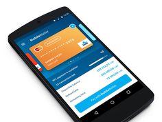 Unused prototype for Mobile Wallet.