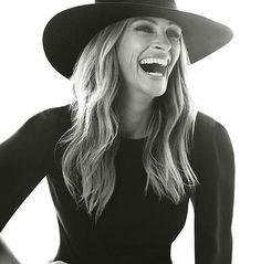 For Instyle Magazine. Cinema Tv, Julie Andrews, Stana Katic, Angelina Jolie, Famous Faces, Audrey Hepburn, Vogue Paris, Pretty Woman, Editorial Fashion