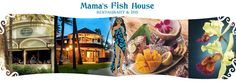 THE BEST restaurant!                            Mama's Fish House in Maui