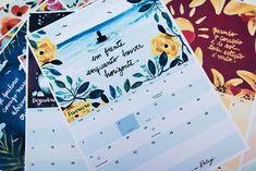 Calendário 2016 grátis para imprimir - E aí Beleza + Canson Colorido - E aí, Beleza?