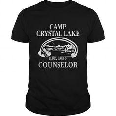 I Love camp crystal lake counselor T shirts