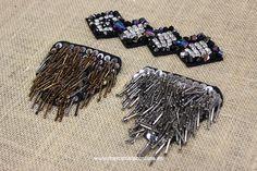 Apliques de pedrería. Cinturas de abalorios. Mercería La Costura Bilbao www.mercerialacostura.com