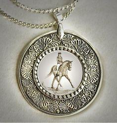 Classic Horse Pendant
