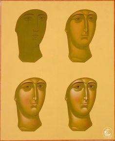 Фотография Byzantine Icons, Byzantine Art, Religious Icons, Religious Art, Writing Icon, 3 4 Face, Paint Icon, Face Icon, Catholic Art