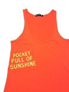 D.I.Y. pocket full of sunshine