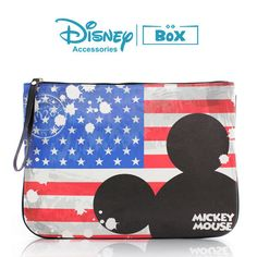 Disney Mickey Mouse Purse Clutch  Hand  Bag Pouch Character Flag Mickey Bag    Clothing, Shoes & Accessories, Women's Handbags & Bags, Handbags & Purses   eBay!