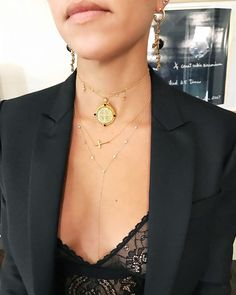 Love this necklace layering