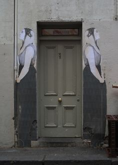 Doors ~ by Miso, a Melbourne-based street artist