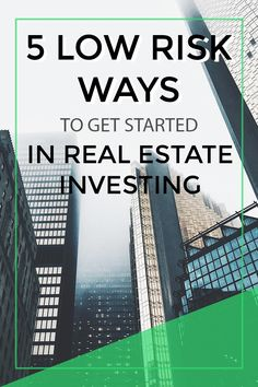 A professional real estate investor who's semi-retired in his shares 5 ways to get started making money in real estate. 5 low risk ways to get started in real estate investing aka how to get started in real estate investing via Real Estate Business, Real Estate Investor, Real Estate Marketing, Selling Real Estate, Real Estate Tips, Investing Money, Saving Money, Take Money, Sell Your House Fast