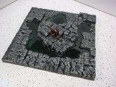 Dungeons & Dragons 8X8 blasted floor w/ swamp or lake dwarven forge pathfinder in Toys & Hobbies | eBay