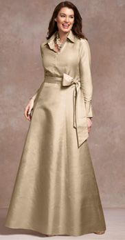 Yay!  Finally talbots has a what to wear to wedding collection with classy attire advice!