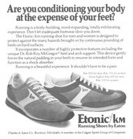 Eaton Etonic KM Running Shoes 1979 Ad Picture