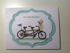 Pedal Pusher by Stampin' Up Cathiescards.blogspot.com