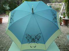Fancy Umbrella, Transparent Umbrella, Cute Umbrellas, Umbrellas Parasols, Singing In The Rain, Chula, Fabric Painting, Rainy Days, Art Pieces