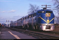 RailPictures.Net Photo: DH 18 Delaware & Hudson Alco PA-4 at Fort Edward, New York by Don Oltmann