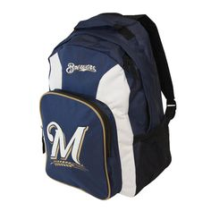 Milwaukee Brewers Southpaw Backpack - Navy