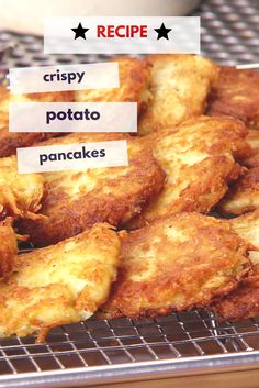 Secrets of a Restaurant Chef: Crispy Potato Pancake Recipe