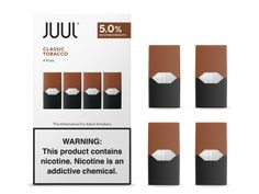 Shop the Classic Tobacco JUULpod. Familiar, robust tobacco flavor couples with aromatic notes. Each pack contains 4 pods. Vape, Addiction, Cancer, Classic, Palace, Strength, Free Shipping, Smoke, Derby
