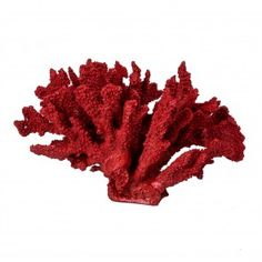 Key West Faux Coral - Red