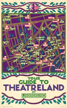 Masterpiece London 2013 // The Map House. Reginald Percy Gossop - London Transport - Your Guide To Theatreland