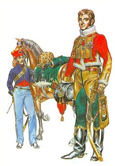 Generale Lefebvre-Desnouettes, comandante della cavalleria leggera a Waterloo