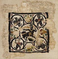 A COPTIC TEXTILE PANEL   Circa 5th-6th Century A.D.