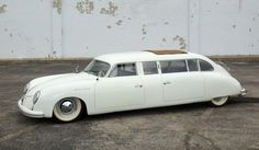 Now THAT's a #cool limo! John Dixon's 1953 #Porsche 356 Limousine