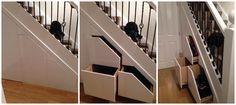 Under stairs storage http://smartstoragesolutions.co.uk/understairs-storage/