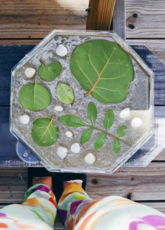 ohdeardrea: How To Make Your Own Garden Stepping Stones {DIY}