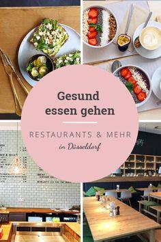 10 Restaurants und Smoothie-Bars in Düsseldorf, wo du richtig gute und gesunde Mahlzeiten bekommst  Schau mal rein!