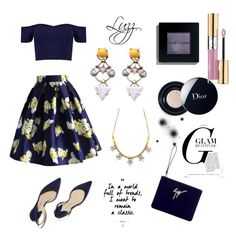 """""""Amazing details ✨ the accessories from #luzzaccessories"""" by luzzaccessories on Polyvore featuring Chicwish, Christian Dior, Bobbi Brown Cosmetics, Yves Saint Laurent, Boohoo, Paul Andrew and Giuseppe Zanotti"""