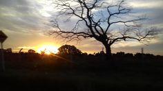 Pôr do Sol, vila piloto #pordosol #sky #sol