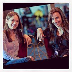 #FlashbackFriday Exclusive! Kristin Kreuk & Nina Lisandrello: Beauty and the BeastPartners in Beauty! Look at that hair… #BatB