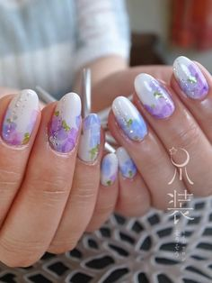 紫陽花 |菅沼桃華のネイルとアートとときどきスピリチュアル
