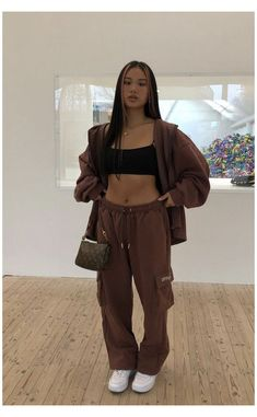 Baddie Outfits Casual, Dope Outfits, Retro Outfits, Cute Casual Outfits, Fashion Outfits, Vest Outfits, Look Hip Hop, Mode Hipster, Looks Pinterest