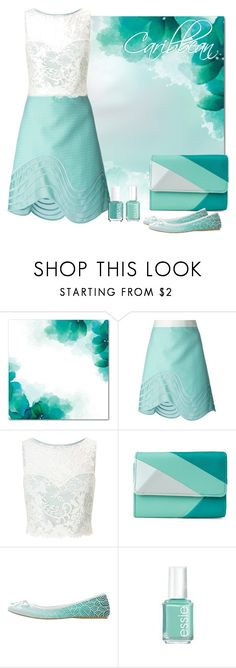 """""""Caribbean"""" by savousepate ❤ liked on Polyvore featuring 3.1 Phillip Lim, Miss Selfridge, Mundi and Essie"""