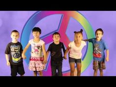 Help your young children develop an awareness of the word PEACE and what peace means with this simple (take – off) of the classic kids song BINGO now turned into a song for children to sing about peac Kindergarten Music, Preschool Songs, Kindergarten Graduation, Kids Songs, Music For Kids, Yoga For Kids, Jack Hartmann, Peace Songs, Remembrance Day Activities