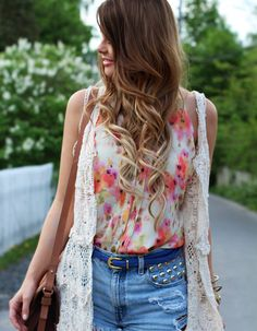 long-ombre-hair - I am really starting to wonder if this hairstyle/color would look good on me...??