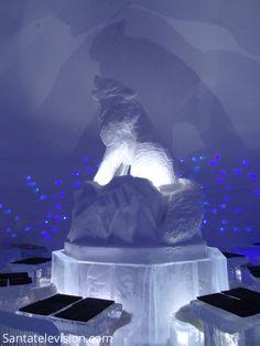 Restaurante de Gelo em Lainio Aldeia de Neve na Lapônia na Finlândia