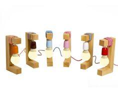 Benett - Desli | Design Your Life Wooden Art, Wood Wall Art, Lamp Design, Lighting Design, Ikea Table Hack, Diy Luz, Origami Lamp, Design Your Life, Wood Lamps