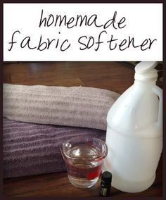 There are several homemade fabric softener recipes here that will save you tons of money and are very effective!