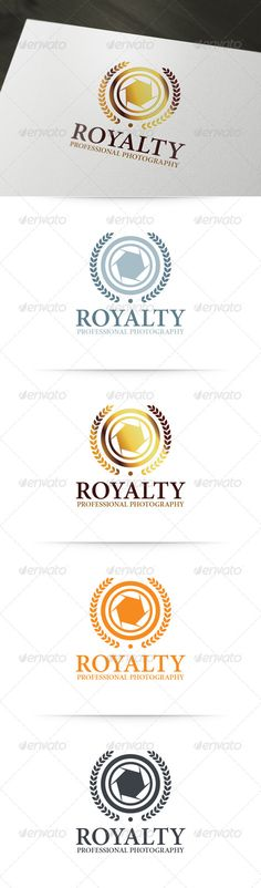 Royalty - Photography   Logo Template #logo #photography #image • Download ➝…