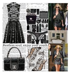 """""""we got 'em feelin' some way Way, 'cause you see XO in the place, told her, """"Wait"""" I gotta get myself together, it's a date I spent two thousand on a sweater, way I think the belts inside the store look better on my waist"""" by labelsoflove ❤ liked on Polyvore featuring Mary Katrantzou, Chanel, WALL, Judith Leiber, Yves Saint Laurent, Topshop, DANNIJO, Dsquared2, Free Press and Stephen Webster"""