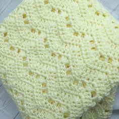 How to Crochet Cuffed Baby Booties - Crochet Ideas Yellow crochet baby blanket This is a very soft crochet blanket. This baby or adult afghan will mak Crochet Baby Blanket Free Pattern, Crochet For Beginners Blanket, Crochet Hook Set, Baby Afghan Crochet, Baby Afghans, Afghan Crochet Patterns, Baby Patterns, Easy Crochet, Crochet Ideas