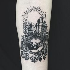 Image result for moomin tattoos