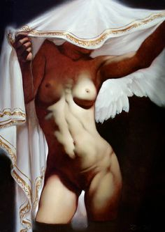 "cavetocanvas: "" Roberto Ferri, Angel Sheer """