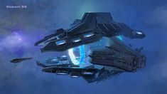 Osmani SS futuristic spacecraft concept art for The Mandate, by Garret Arney-Johnson Spaceship Art, Spaceship Design, Concept Ships, Concept Art, Illustrations Techniques, Starship Concept, Sci Fi Spaceships, Planes, Sci Fi Ships